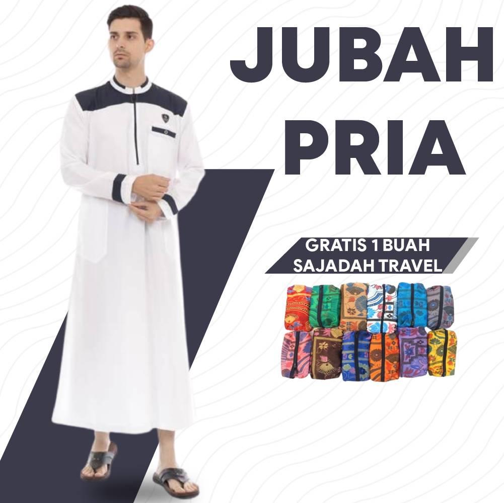 Jubah Pria MQ Fashion Premium